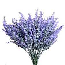 Aplstar Artificial Flowers Lavender Bouquet in Purple Artificial plant for Home