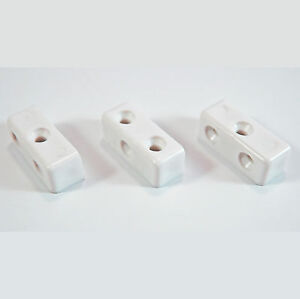 100 X MODESTY MOD BLOCKS WHITE FURNITURE KITCHEN CUPBOARD FIXING JOINT CONNECTOR