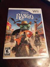 Rango Wii ( Nintendo Wii , 2011 ) Complete W/box & Manual !