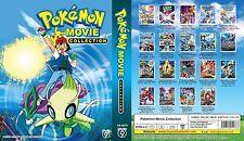 Pokemon Complete 1 - 19 Movies Complete DVD Collection Box Set - BNIB