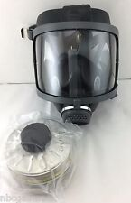 Scott/SEA Domestic Preparedness Gas Mask w/ NEW Mestel Filter Exp 12/22