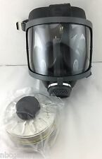 Scott/SEA Domestic Preparedness Gas Mask w/ NEW Mestel Filter Exp 06/22 & Case