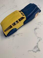 Vintage Triumph Woody Station Wagon Plastic Car