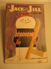 Jack and Jill Youth Magazine Jan. 1957