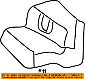 CHRYSLER OEM Rear Seat-Stopper MB873947