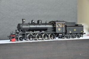 NMJ SUPERLINE SWEDISH SJ Class E2 Electric Engine Brass Original DCC Sound