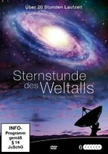 Sternstunde des Weltalls 6 DVD Sammlung NEU Doku 20 Stunden Kosmos All Mars Mond
