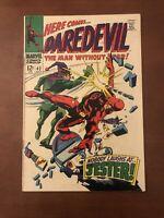 Daredevil #42 (1968) 7.5 VF Marvel Silver Age Comic 1st App Of Jester High Grade