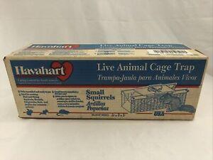 Havahart Live Animal Cage Trap Model # 1025 Galvanized Steel Small Animals NIB