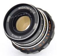 Industar-61 LD 55mm 50mm f/2.8 Objektive M39 fits Zorki,Leica 35mm film camera