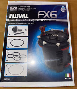 Fluval FX6 Service Kit A20259 Includes Magnetic Impeller Assembly - NEW in Box