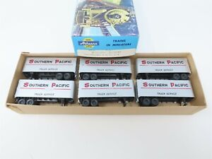 HO Scale Athearn 1425 SP Southern Pacific Piggyback Trailers 6-Pack
