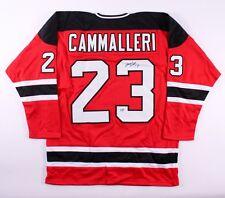 Michael Cammalleri Signed Devils Jersey (First Class Autographs COA)