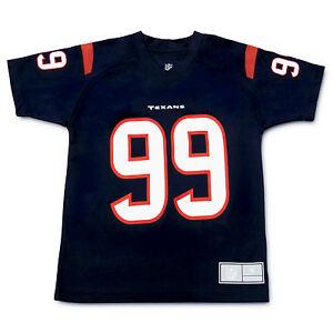 JJ Watt #99 Houston Texans NFL Youth 8 - 20 Performance Jersey Style T-Shirt