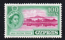 Cyprus 100 Mils c1955-60 Mounted Mint Stamp (2696)