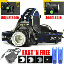 G4 AUTOMOTIVE CREE Rechargeable Head light LED Tactical Headlamp 18650 Battery