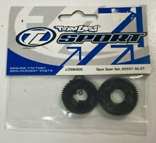 TEAM LOSI NEW LOSB0935 SPUR GEAR SET BLACK 50 / 54T MLST