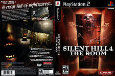 Silent Hill 4: The Room CUSTOM PS2 CASE (NO GAME!!!!!!!!)