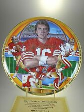 Sports Impressions Joe Montana Collectors Plate 1st Plate in Series (#899)