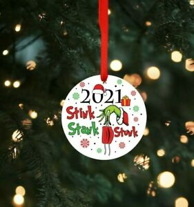 Grinch 2021 Christmas Tree Ornament Decoration Bauble