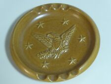Ashtray - Patriotic American Eagle and Stars, Vintage, Excellent Condition