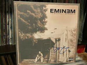 EMINEM SIGNED AUTOGRAPHED LP VINYL *DIDO* STAN RARE MARSHALL MATHERS LP *EU*