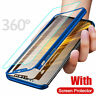 360° Protective Case Cover+Glass For Samsung Galaxy A10 A70 Note 10 Plus S10