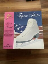 American Athletic 522 Women's Tricot-Lined Ice Skates, Size 6