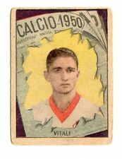 CALCIO FIGURINA  CALCIATORI   VAV  CAMPIONATO 1950   PADOVA   VITALI
