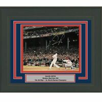 FRAMED Autographed/Signed DAVID ORTIZ Boston Red Sox 8x10 Photo Beckett COA #2