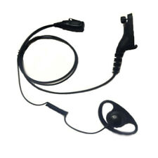 D Shape Earpiece Security Headset for Motorola MotoTRBO Radio DP3400, DP3600