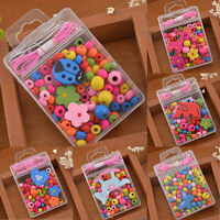 1Box Friendship Beads Kids Creative Toys Jewellery Necklace DIY Children's Craft
