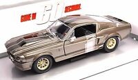 FORD SHELBY MUSTANG GT500 1967 ELEANOR GONE 60 SECONDS GREENLIGHT 18220 1:24 NEW