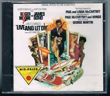 007 LIVE AND LET DIE OST PAUL LINDA McCARTNEY GEORGE MARTIN CD F.C. SIGILLATO!!!