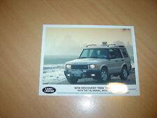 PHOTO DE PRESSE ( PRESS PHOTO ) Land Rover Discovery Trek de 1998 R0129