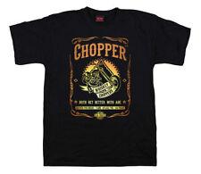 Herren-T-Shirts aus Baumwolle mit Motorrad in Größe XL