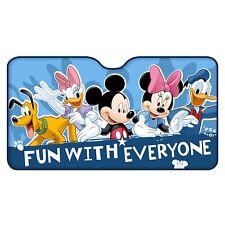 Disney MINNIE MICKEY DAISY DONALD Frontscheiben-Sonnenschutz ALU 130 x 70cm NEU