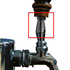 Angle Bonnet for Draft Beer Faucet Tap Handle - Chrome - Kegerator & Tap Parts
