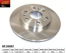 Disc Brake Rotor-Rear Drum Front Best Brake GP55097