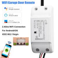 Universal Wireless Wifi Garage Door Gate Controller Remote Control Opener 2.4GHz