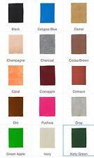 "NWT Soft Felt Sheet 1 mm Various Solid Colors 9x12"""