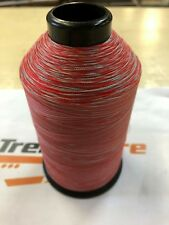 H&B VARIEGATED MULTI-COLOR RED GRAY COLOR 13449  T45 T46 8OZ NYLON THREAD NEW!