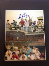 Tom Browning Cincinnati Reds Roof Top Tommy Autograph 8x10 Photo/mat Wrigley