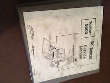 BOBCAT 5600 WHEEL LOADER TOOLCAT SERVICE MANUAL  MELROE IR