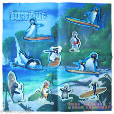 SURF'S UP FELT PLAY MAT w/ MOVEABLE CHARACTERS ~ Birthday Party Supplies Game