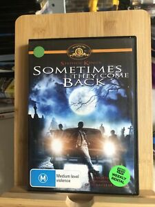 Stephen King Sometimes They Come Back DVD Region 4 Ex-rental
