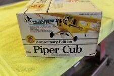"""Carl Goldberg, Piper Cub, Vintage Balsa R/C Plane Kit 76"""""""