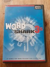 Word Shark v.3s ed. 3.05 reading, spelling, home school, dyslexia, PC CD ROM
