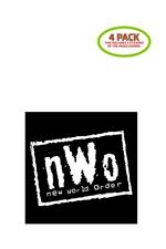WWF NWO Sticker Vinyl Decal 4 Pack