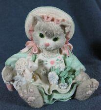 Calico Kittens Blossoms of Friendship #623555 Patricia Hillman 1993 Figurine